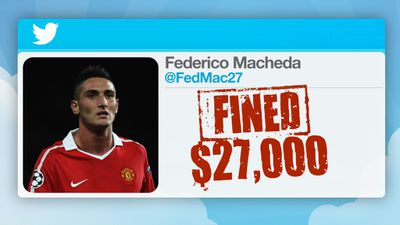 He was fined $27,000.