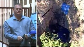 Man 'murdered dad and hid body before dumping in mine'