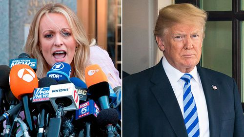 Stormy Daniels alleges she had an affair with Donald Trump more than a decade ago.