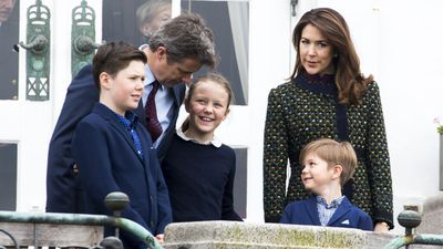 Princess Mary, Prince Frederik and family