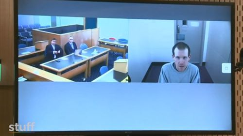 On March 15 last year, Tarrant drove from his Dunedin home to Christchurch with an arsenal of guns and ammunition and murdered 51 worshipers inside two mosques. Here, he pleads guilty via court video link.