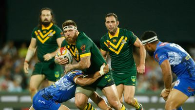 Kangaroos trump Samoa in World Cup quarter-final