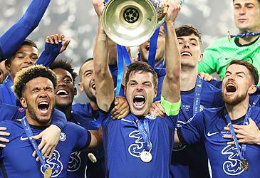 Daily Quiz: Which competition did Chelsea FC win on the weekend?