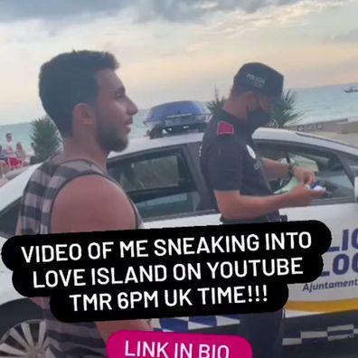 Omer Majid Love Island UK security breach