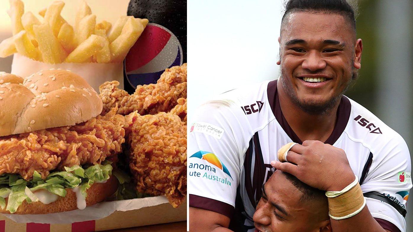 The Des Hasler meal plan at centre of Moses Suli's NRL revival