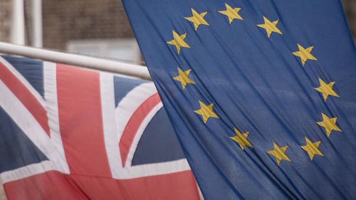 File photo dated 17/02/16 of the EU and Union flags. Boris Johnson will reveal his aims for a trade deal with the European Union ahead of talks on Monday which are likely to expose deep divisions between the two sides