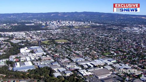 Five suburbs located within five kilometres of Adelaide's CBD have average purchase prices under $500k. (9NEWS)