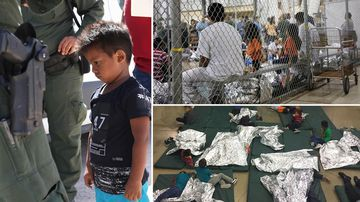 Families separated at US border