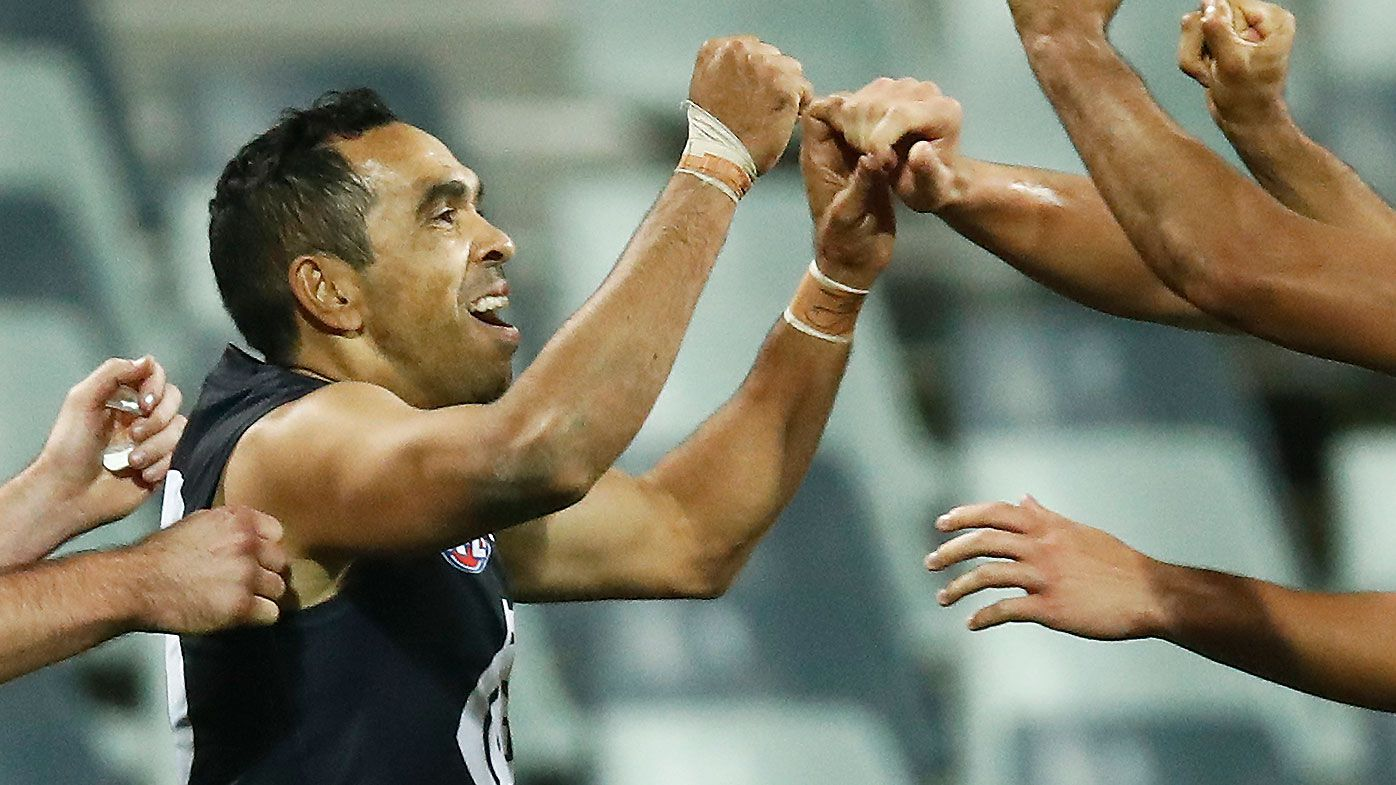 Eddie Betts' last-minute tackle seals Carlton's first win in Geelong since 1996