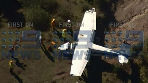 Paramedics were called to the scene this morning. (9NEWS)