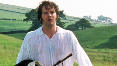 Firth's turn as Mr Darcy saw him garner A LOT of attention.