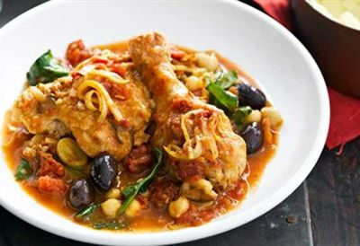 Tuesday: Mediterranean chicken