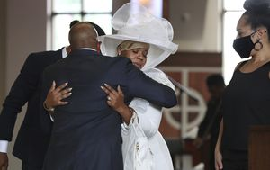 Mourners pay tribute to slain black man Rayshard Brooks