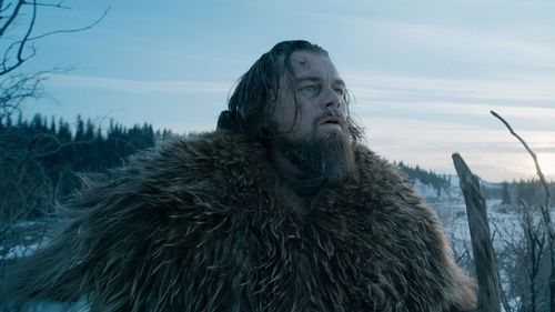 The Revenant took a year of filming. (AAP)