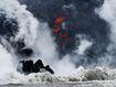 Hawaii on edge as lava reaches power plant