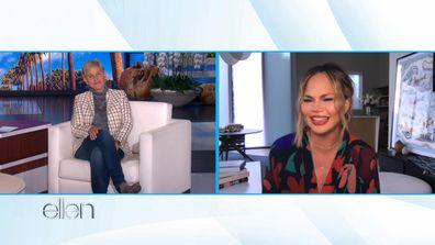 Chrissy Teigen Ellen DeGeneres Show