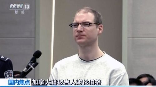 The Liaoning provincial court in northeastern China announced the death sentence for 36-year-old Robert Lloyd Schellenberg yesterday.