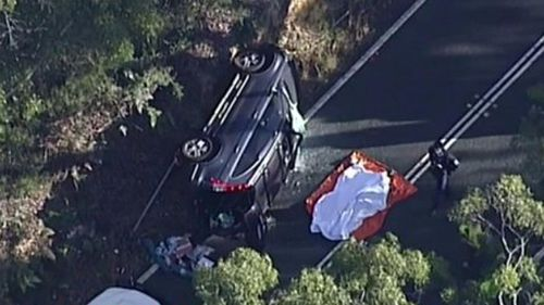 One killed in car crash on national park road in Sydney's south