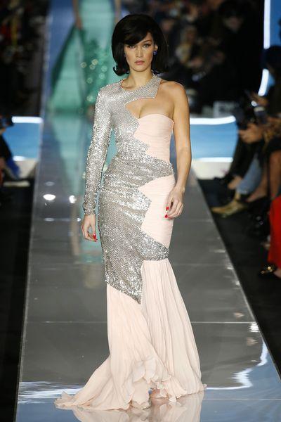 Bella Hadid at Moschino A/W '18, Milan Fashion Week