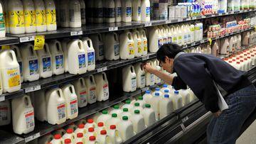 Coles Woolworths milk price