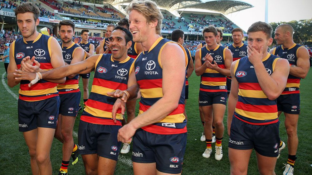Adelaide hand Fremantle an AFL hiding