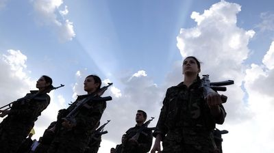 <p>Kurdish fighters defending the northern Syrian town of Kobane from ISIS confirmed that they had safely received weapons, ammunition and medical supplies dropped by the US military.</p>