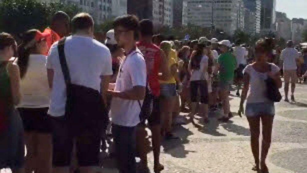 Long lines plague Olympic Games