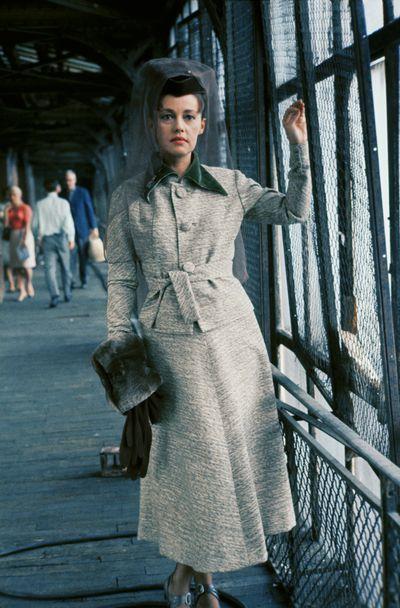 Jeanne Moreau on the set of<em> Mata hari, Agent HN21</em> in France in September 1964.