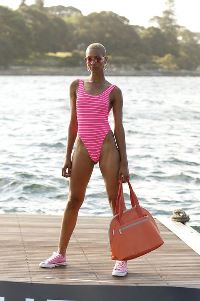 "Bound Swimsuit by Bond Eye, $149.95 at <a href=""https://www.theiconic.com.au/bound-the-mode-430330.html"" target=""_blank"">The Iconic</a>."