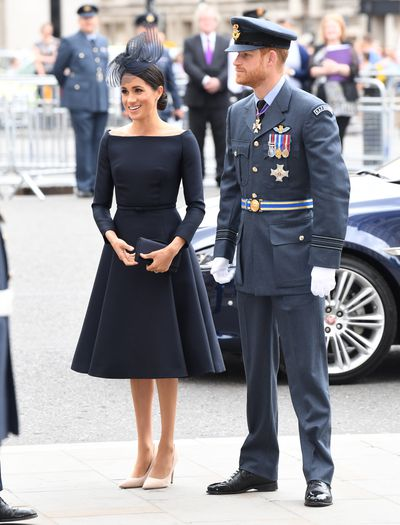 DUKE AND DUCHESS OF SUSSEX COMMEMORATE THE CENTENARY OF THE RAF