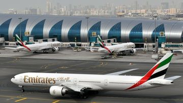 Plane crash brings Dubai Airport to standstill