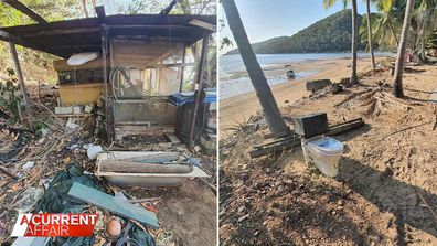 Foreign-owned Queensland island resorts abandoned and in ruins.