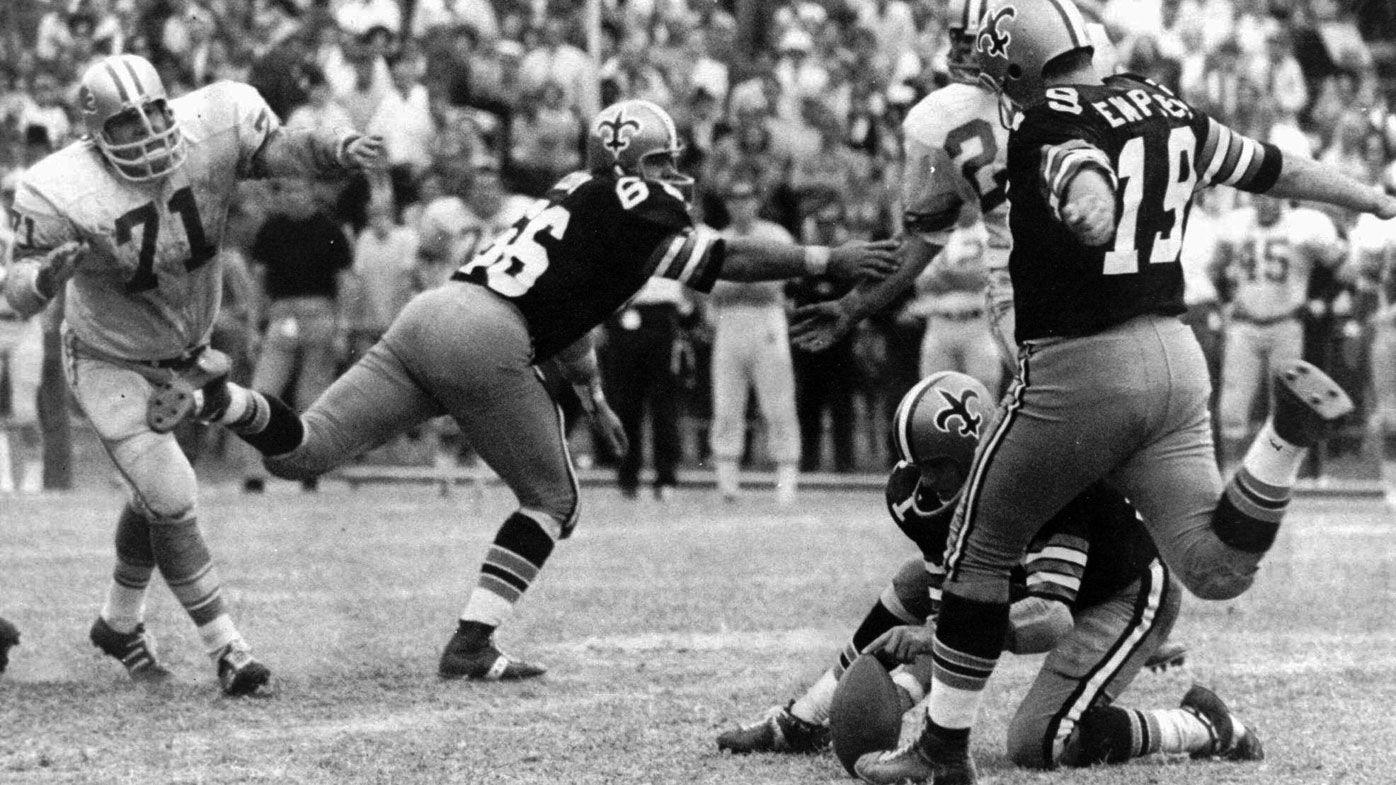 Legendary NFL kicker Tom Dempsey dies after contracting coronavirus, aged 73
