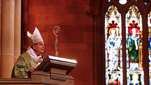 Sydney Archbishop Anthony Fisher has spoken out against same-sex marriage. (AAP)