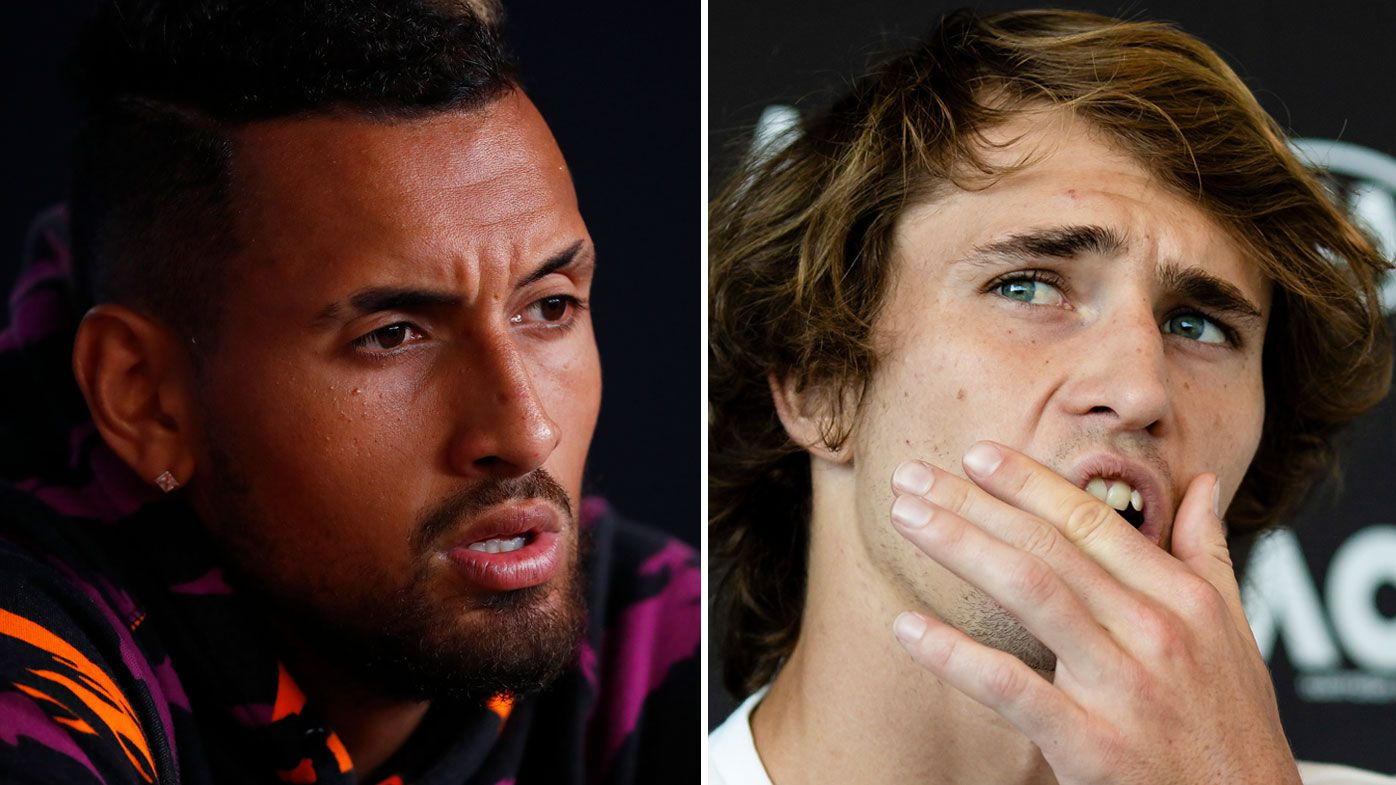 Australian Open: Nick Kyrgios bemused by Alexander Zverev grand slam criticism - Wide World of Sports image
