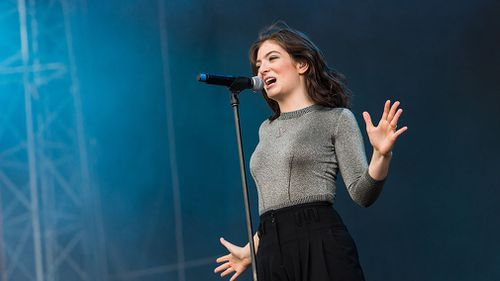 The singer performs during the second day of the Hurricane Festival in Scheessel, Germany, in June. (AAP)