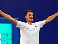 Tomic makes first ATP final since 2016