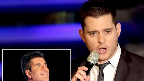"Michael Buble nearly told Simon Cowell to ""go f--- himself"""