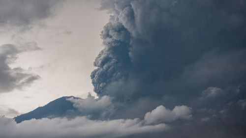 The eruption has come during the peak tourism season for Bali.