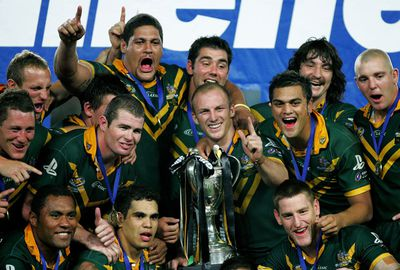 RUGBY LEAGUE: 2006 Tri-Nations final - Australia 16 bt New Zealand 12
