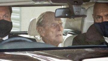 Prince Philip leaves hospital after one-month health battle