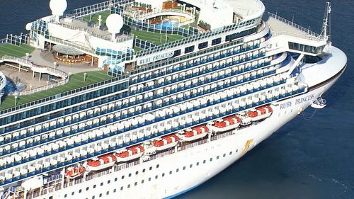 Coronavirus was declared a global pandemic a week before the Ruby Princess was allowed to disembark in Sydney's Circular Quay on March 19.