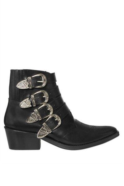 "<a href=""http://www.luisaviaroma.com/toga/women/boots/63I-4TW001/"" target=""_blank"">Boots, $663, Toga at luisaviaroma.com</a>"