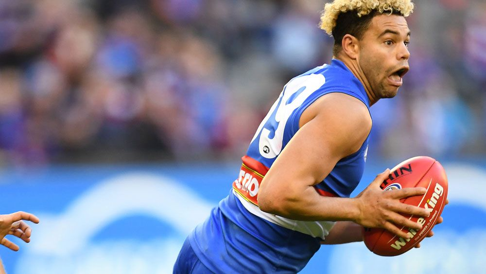 Jason Johannisen has signed a five-year contract extension with the Western Bulldogs. (AAP)