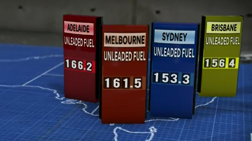 Petrol prices around Adelaide are some of the highest in the country, more than this time last year.