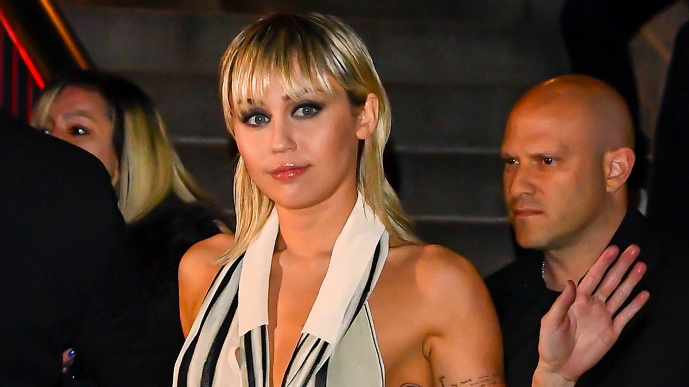 Miley Cyrus embraces wardrobe malfunction, ignores Instagram's nudity policy