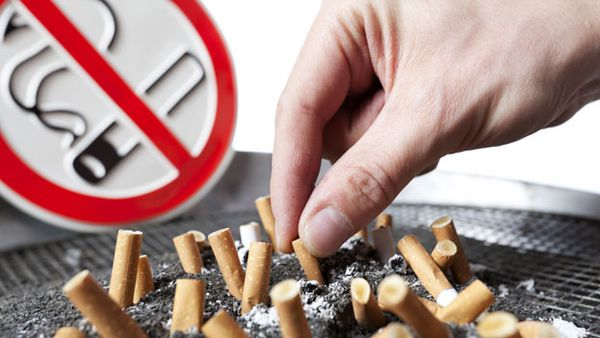The dangers of smoking near children