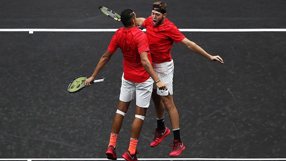 Laver Cup: Nick Kyrgios and Jack Sock upset Rafael Nadal and Tomas Berdych