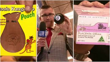 Weird and wonderful finds at Sydney Airport's lost property auction