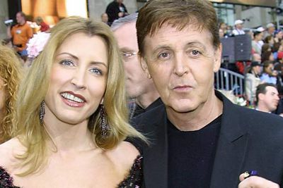 Paul McCartney and Heather Mills<br />